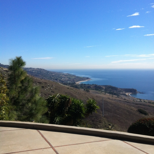 View from the Country Club area of Palos Verdes