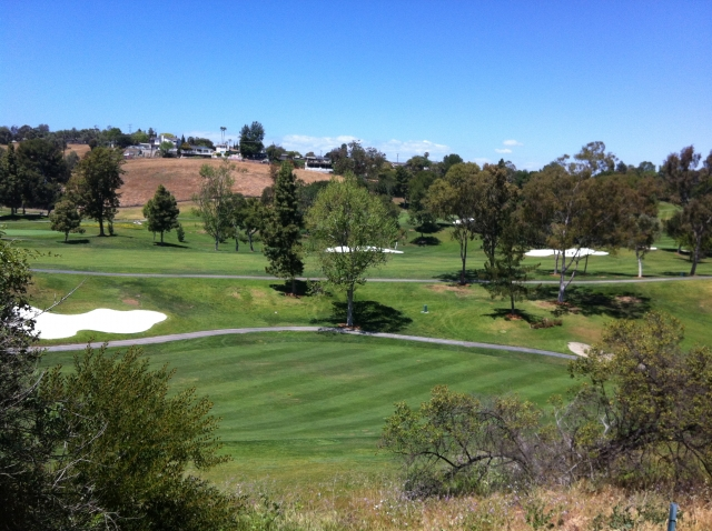 The RH Country Club golf course in Palos Verdes