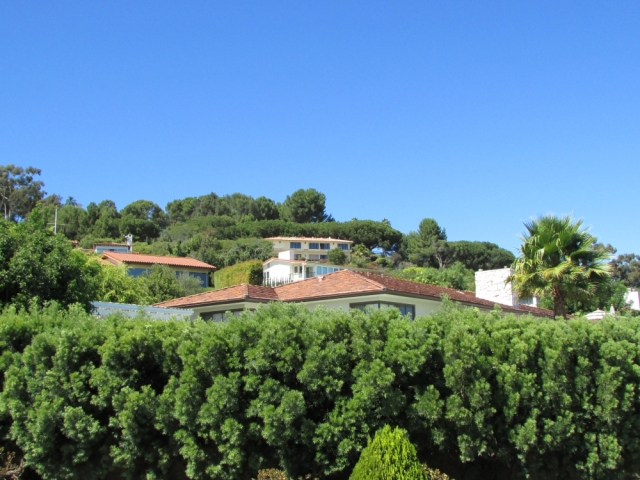 Red tiled roof homes in the Miraleste area of Rancho Palos Verdes