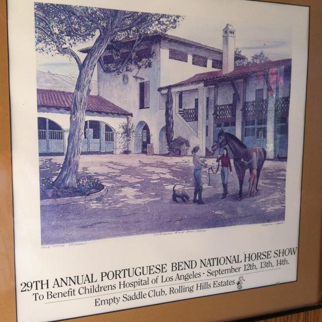 Portuguese Bend Nat Horse Show Poster