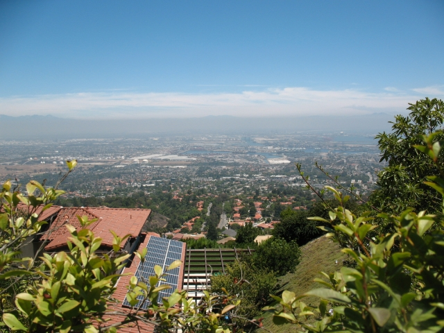 View of the harbor from Miraleste Hill in Palos Verdes