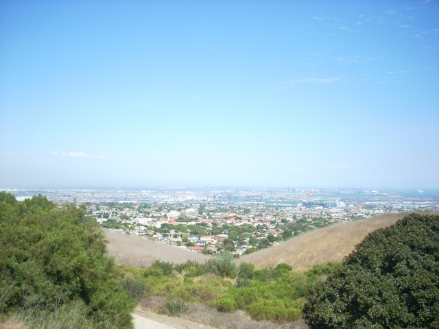 View of San Pedro California from Friendship Park