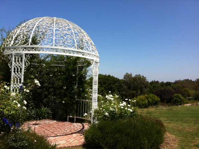 The South Coast Botanical Gardens in Palos Verdes