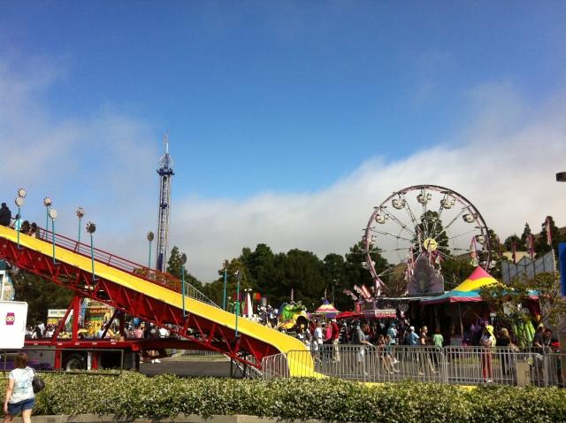 PV Street Fair 2013 - Rides