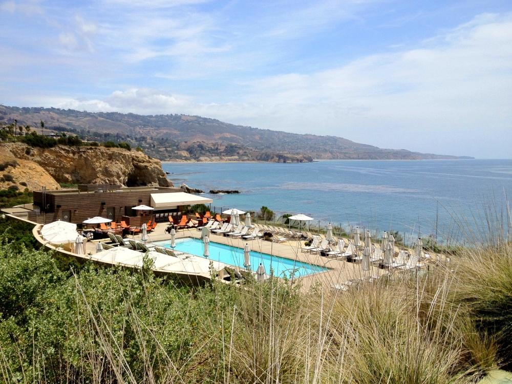 Terranea Luxury Pool in Palos Verdes