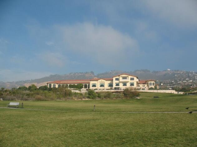 Trump National club house in Palos Verdes