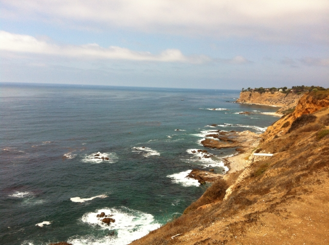 The coastline of Palos Verdes near Golden Cove.