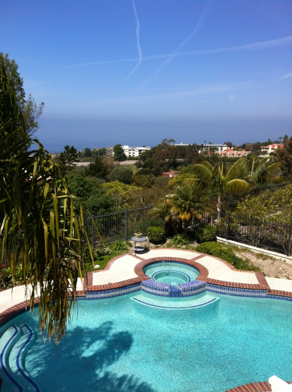 Luxury living in Vantage Pointe, a gated neighborhood in Palos Verdes.