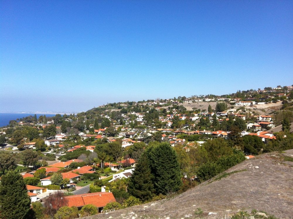 View from Monte Malaga in Palos Verdes