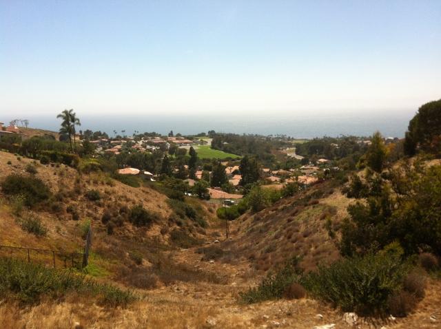 Upper Lunada - View of Palos Verdes Intermediate
