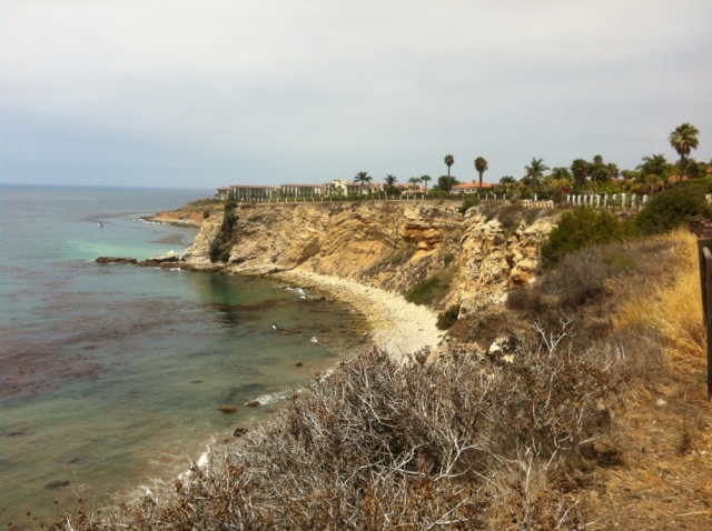 Coast of Palos Verdes along the PV Drive South corridor.