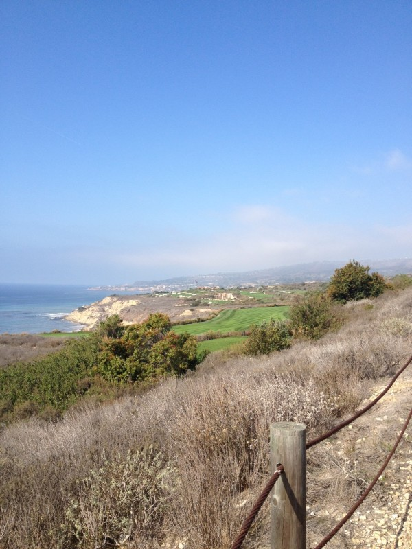 Ocean Trails with view of Palos Verdes Drive South area