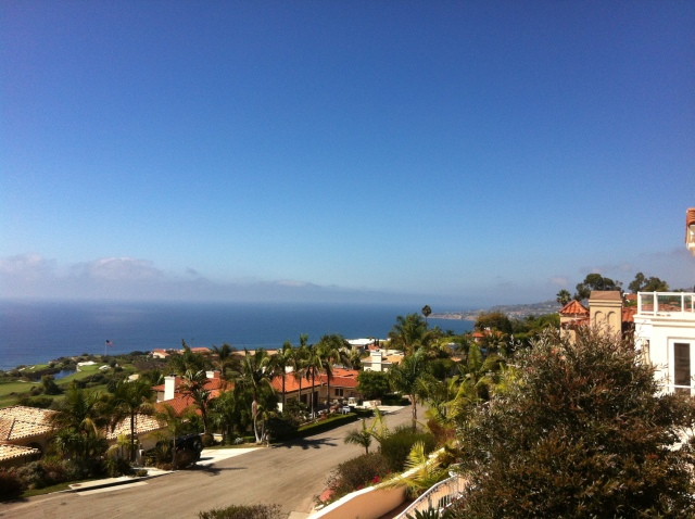 Coastal home with a view deck in Rancho Palos Verdes