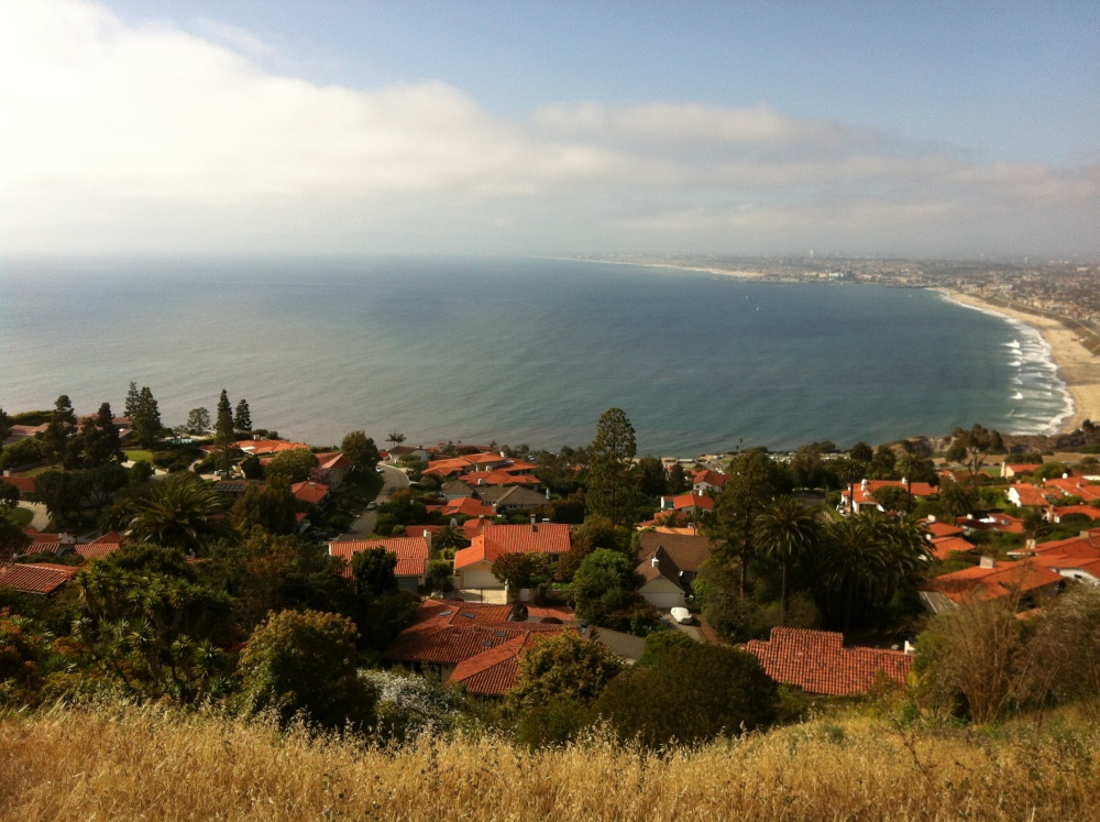 The queens necklace view in Palos Verdes