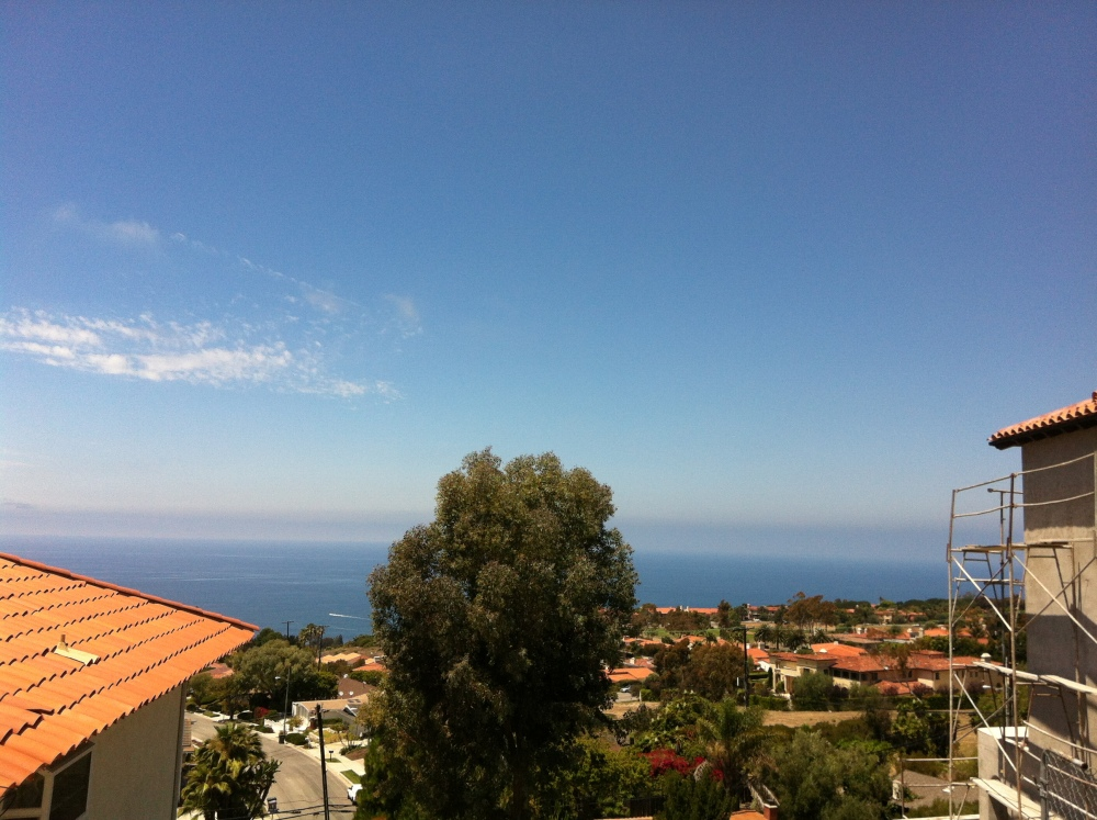 Luxury view in Palos Verdes CA