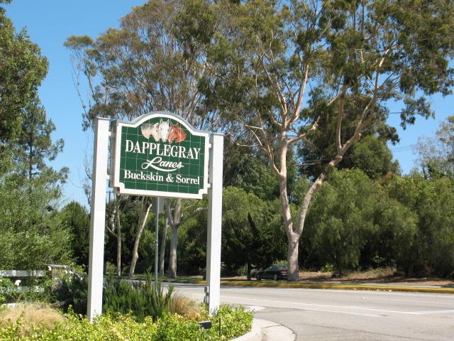 Dapplegray Lanes in Rolling Hills Estates CA