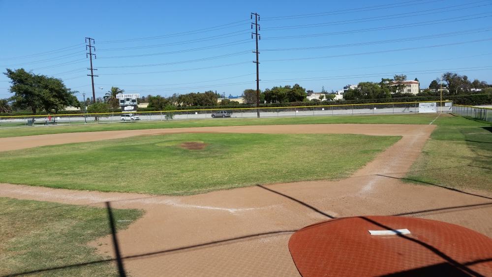 Baseball field in Torrance