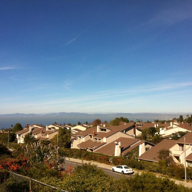 View in the Crest neighborhood.