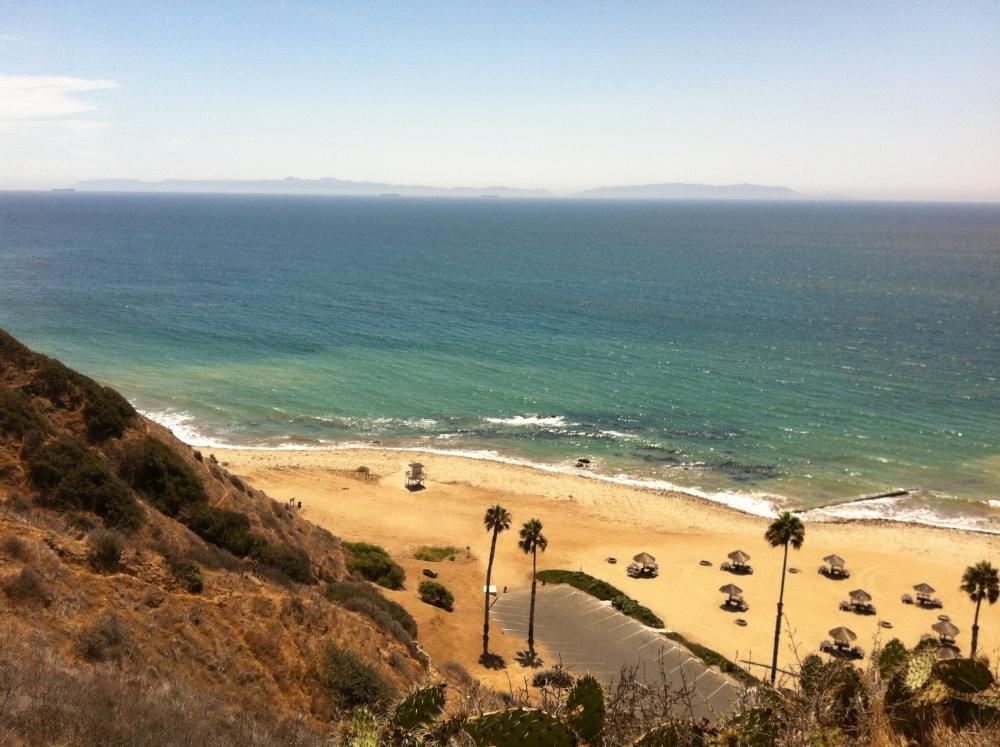 The PV coastline at Portuguese Bend Club
