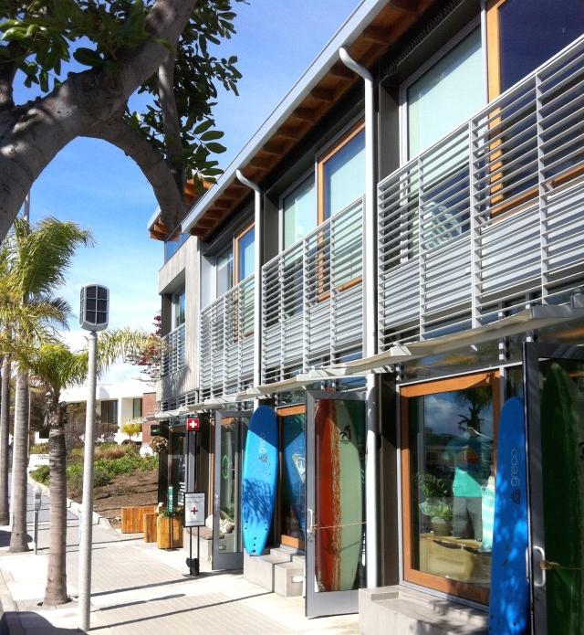 Manhattan Beach Shopping and Surfboards
