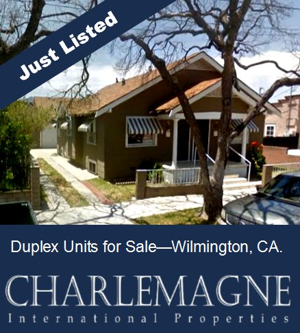 1111 Ravenna Wilmington CA - Duplex Apartment for Sale