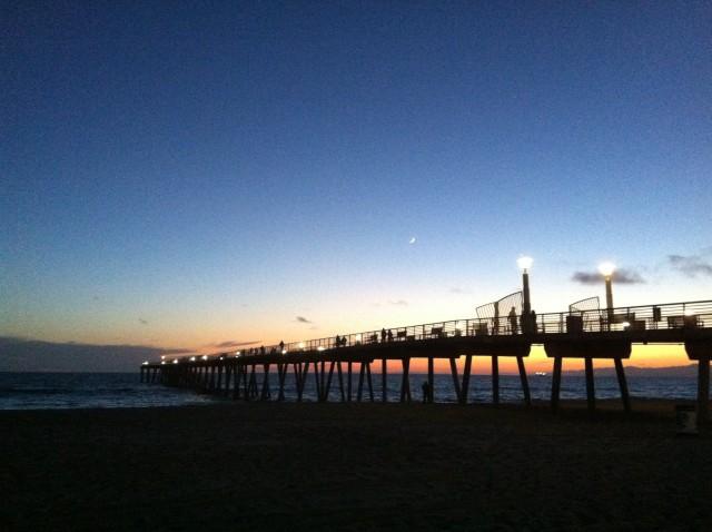 Hermosa Pier Sunset