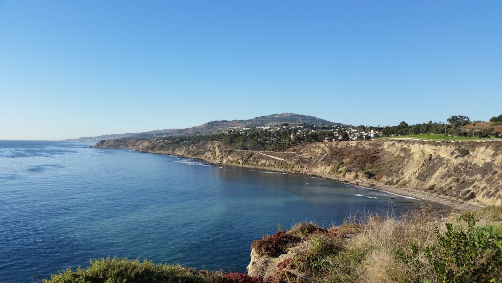 Coast of San Pedro CA