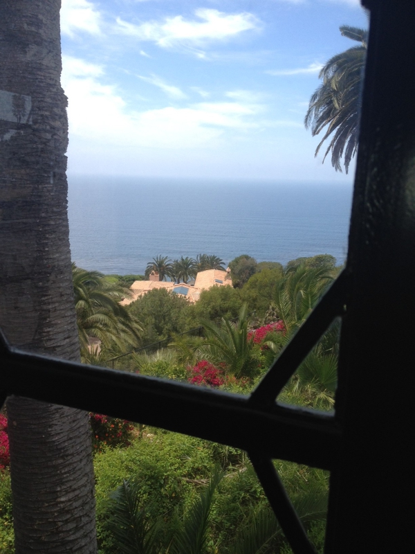 Great view out a coastal Palos Verdes home