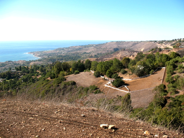 Rolling Hills in California