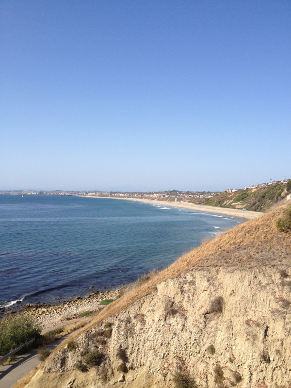 View near Malaga Cove School