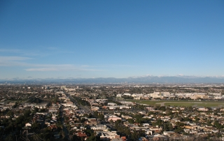 View of the South Bay, Los Angeles