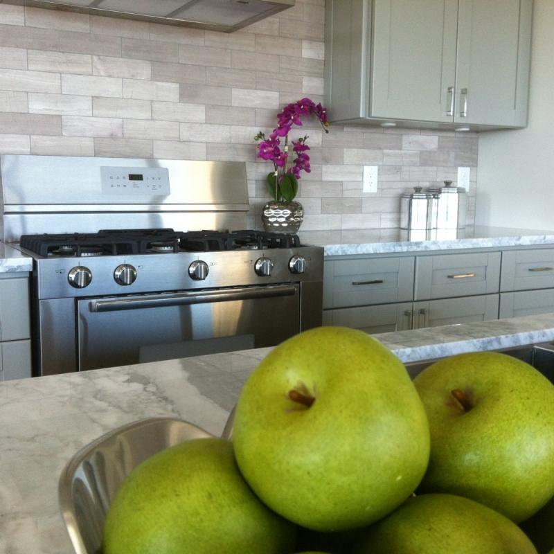 Luxury remodeled kitchen in Palos Verdes
